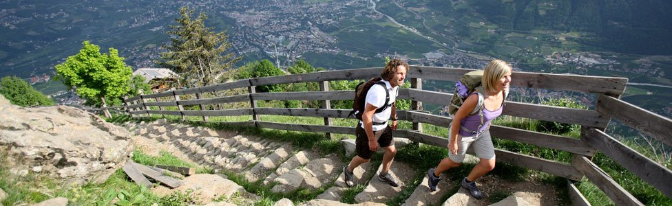 Holidays in Merano & Surroundings: Sports and nature in the summer months